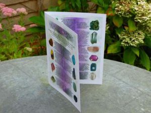 helaing crystal leaflet