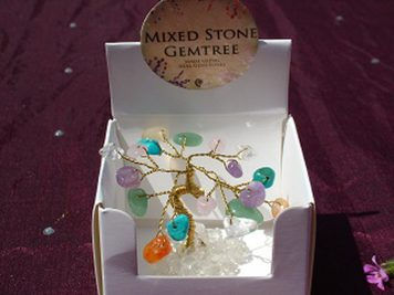 mixed mini gem tree
