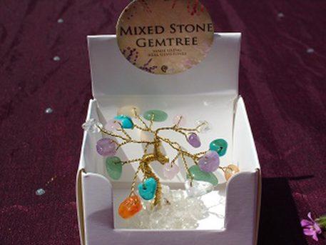 mixed mini gem tree