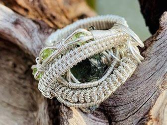 moldavite jewellery