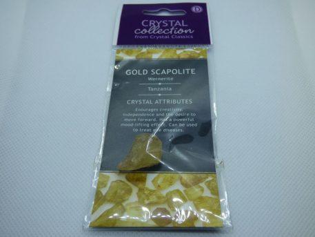 gold scapolite