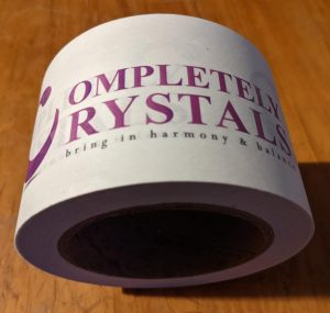 completely crystals biodegradable eco-friendly packaging tape